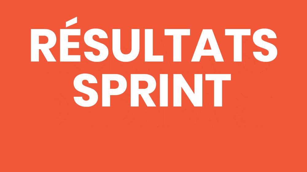 Résultats CO Sprint